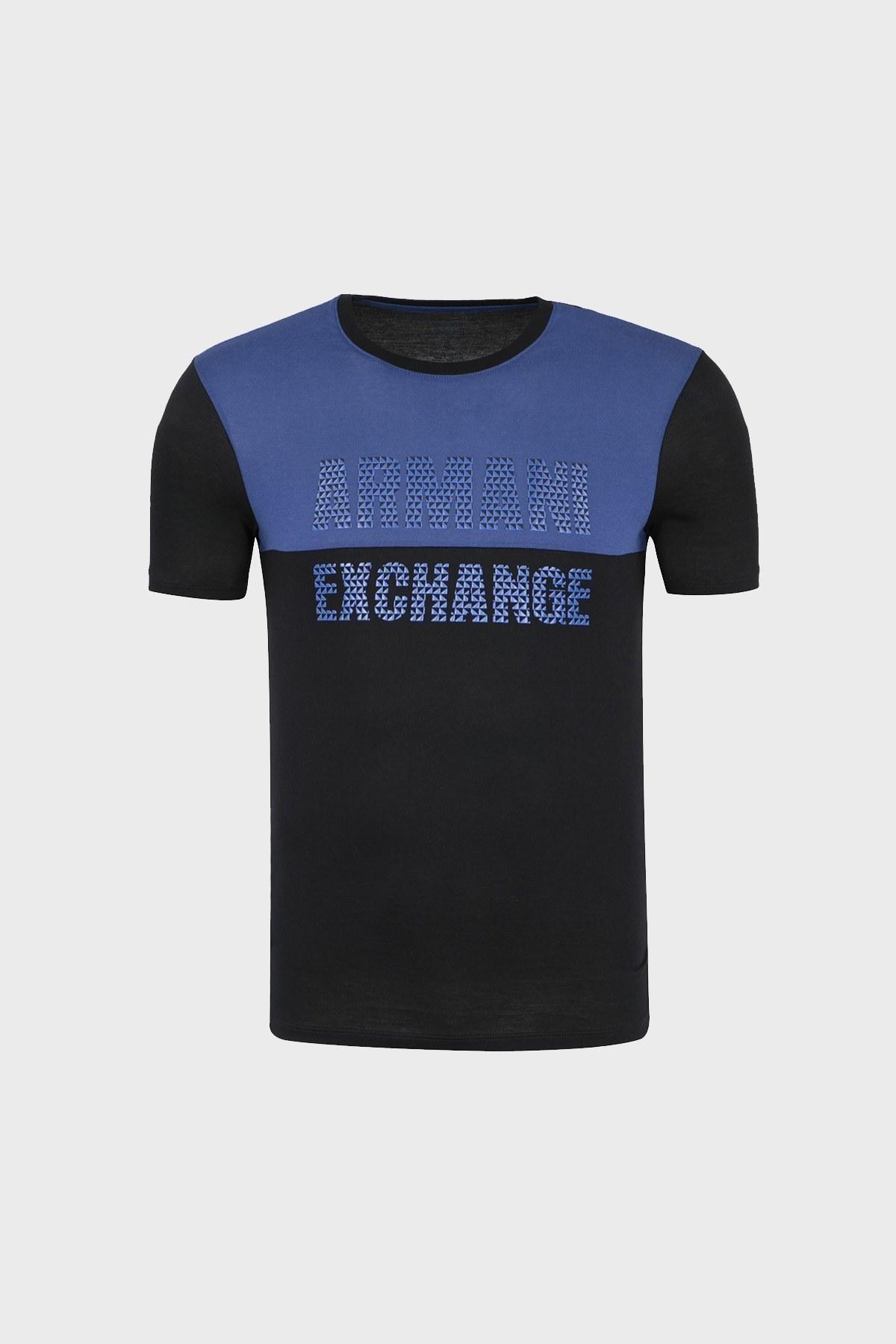 ARMANI EXCHANGE T SHIRT Erkek T Shirt 6ZZTBX ZJA5Z 4253 SİYAH