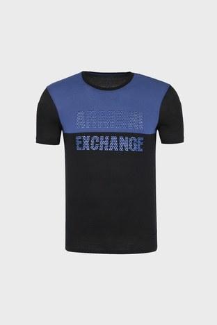 Armani Exchange - ARMANI EXCHANGE T SHIRT Erkek T Shirt 6ZZTBX ZJA5Z 4253 SİYAH