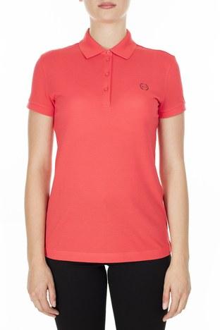 Armani Exchange - Armani Exchange T Shirt Bayan Polo 8NYF73 YJ17Z 1476 MERCAN