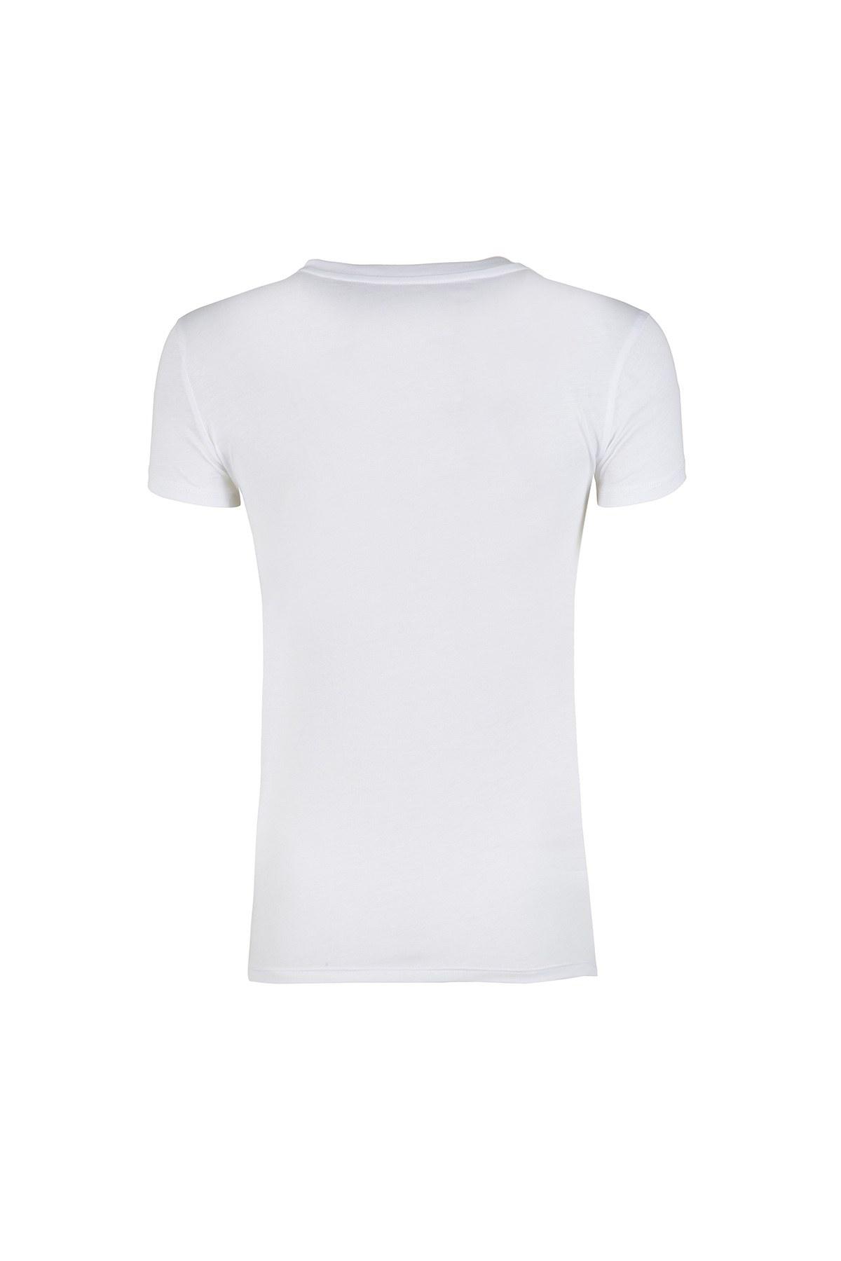 ARMANI EXCHANGE T SHIRT Bayan T Shirt 3ZYTAP YJA8Z 1100 BEYAZ