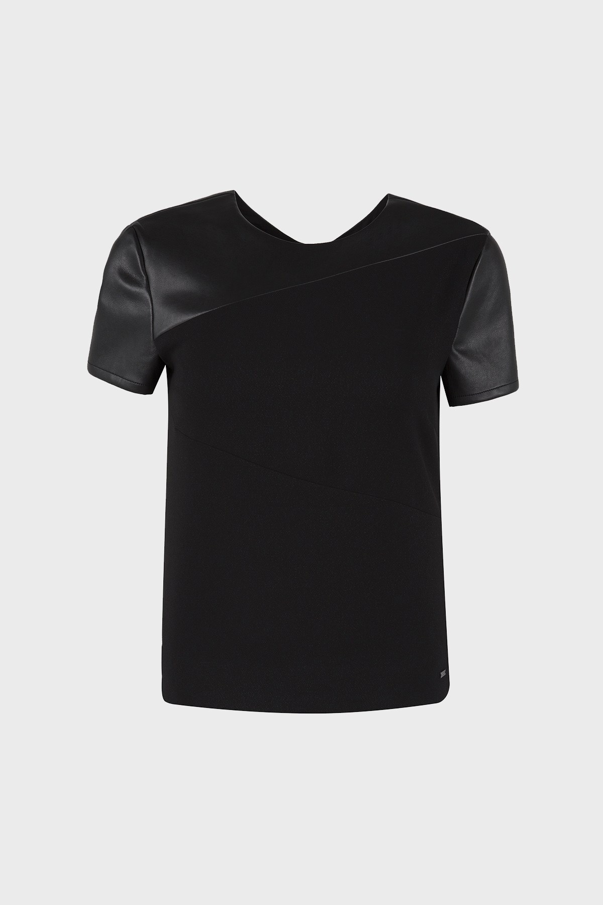 ARMANI EXCHANGE T SHIRT Bayan T Shirt 6ZYH09 YNFMZ 1200 SİYAH