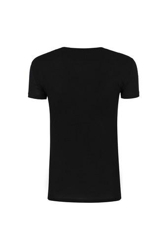ARMANI EXCHANGE T SHIRT Kadın T Shirt 6ZYTBF YJC9Z 1200 SİYAH