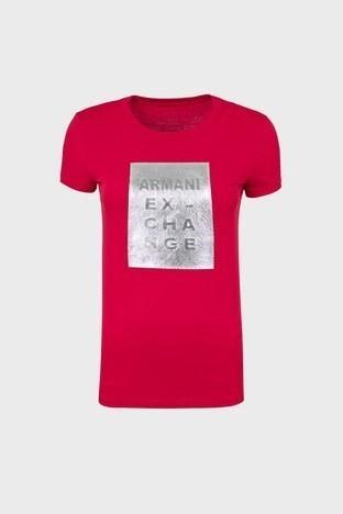 Armani Exchange - ARMANI EXCHANGE T SHIRT Bayan T Shirt 6ZYTBF YJC9Z 1445 KIRMIZI