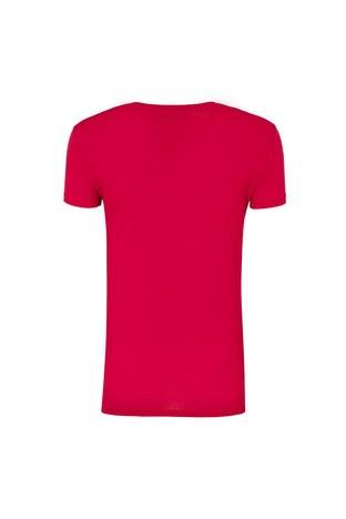 Armani Exchange - ARMANI EXCHANGE T SHIRT Bayan T Shirt 6ZYTBF YJC9Z 1445 KIRMIZI (1)