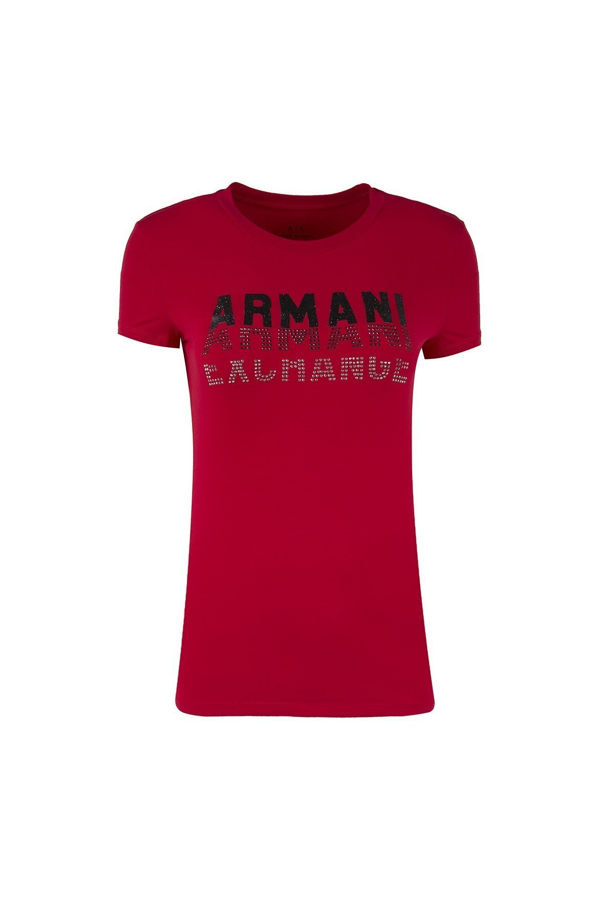 ARMANI EXCHANGE T SHIRT Kadın T Shirt 6ZYTCM YJC7Z 1445 KIRMIZI