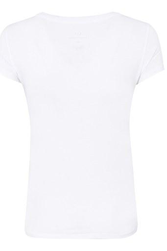 ARMANI EXCHANGE T SHIRT Kadın T Shirt 8NYT83 Y8A8Z 1100 BEYAZ