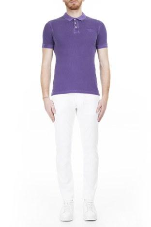 Armani Jeans - Armani J06 Jeans Erkek Kot Pantolon 3Y6J06 6D18Z 1100 BEYAZ