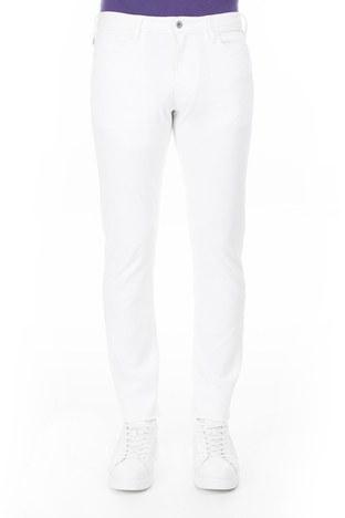 Armani Jeans - Armani J06 Jeans Erkek Kot Pantolon 3Y6J06 6D18Z 1100 BEYAZ (1)