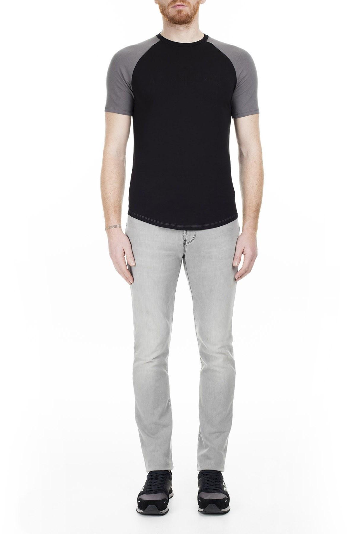 Armani J06 Jeans Erkek Kot Pantolon 3Y6J06 6D1AZ 0904 GRİ