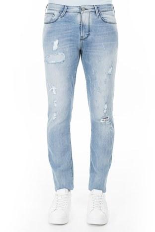 Armani Jeans - Armani J06 Jeans Erkek Kot Pantolon 3Y6J06 6D1VZ 1500 AÇIK MAVİ (1)