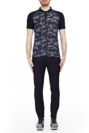 Armani Jeans - Armani J06 Jeans Erkek Pamuklu Pantolon 3Y6J06 6N00Z 0519 LACİVERT