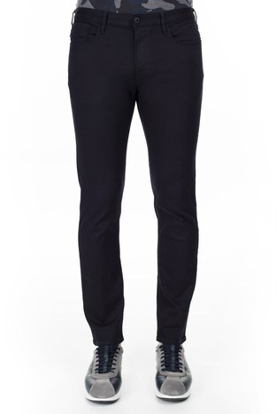Armani Jeans - Armani J06 Jeans Erkek Pamuklu Pantolon 3Y6J06 6N00Z 0519 LACİVERT (1)
