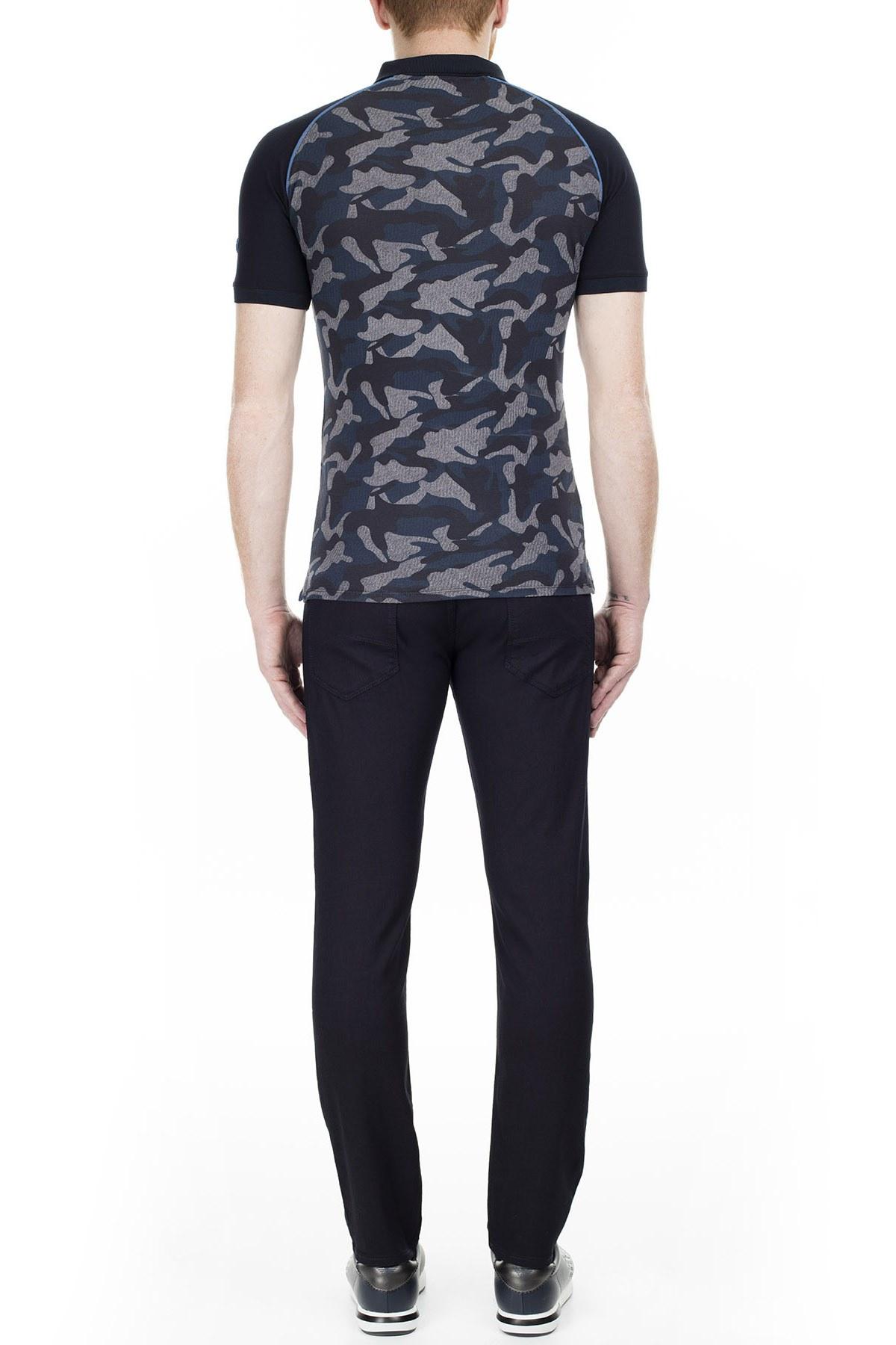 Armani J06 Jeans Erkek Pamuklu Pantolon 3Y6J06 6N00Z 0519 LACİVERT