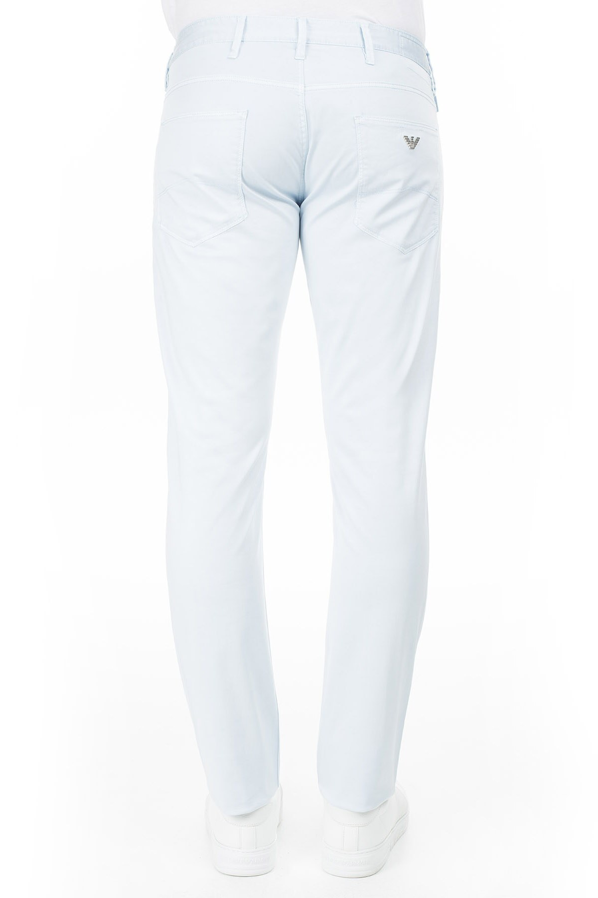 Armani J06 Jeans Erkek Pamuklu Pantolon 3Y6J06 6NEDZ 0504 AÇIK MAVİ