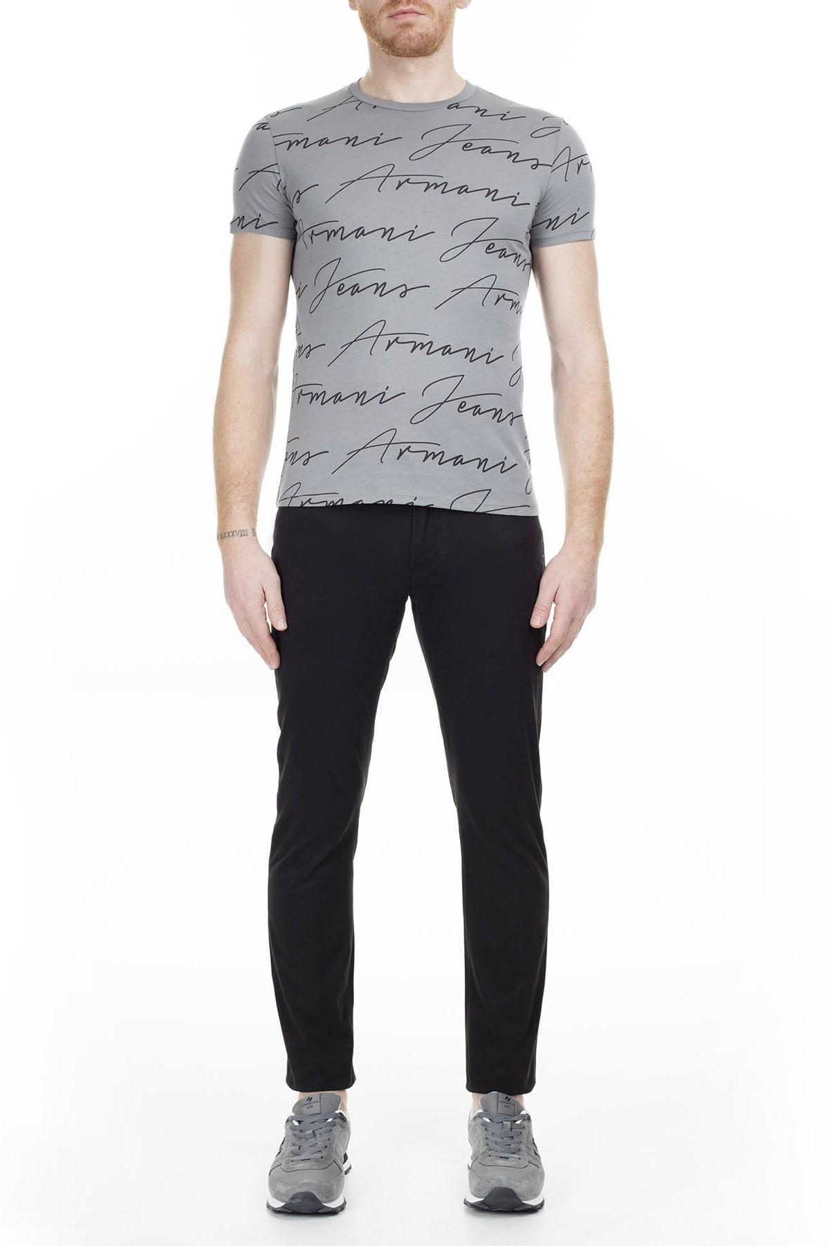 Armani J06 Jeans Erkek Pamuklu Pantolon 6Y6J06 6NKFZ 1200 SİYAH