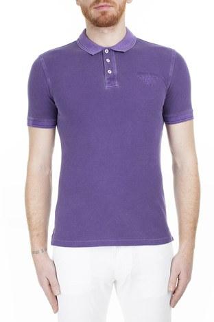 Armani Jeans - Armani Jeans Erkek T Shirt 3Y6F03 6J0JZ 1301 MÜRDÜM
