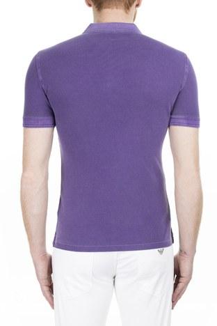 Armani Jeans - Armani Jeans Erkek T Shirt 3Y6F03 6J0JZ 1301 MÜRDÜM (1)