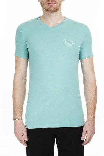 Armani Jeans Erkek T Shirt 3Y6T06 6J1FZ 1802 MİNT