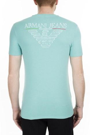 Armani Jeans - Armani Jeans Erkek T Shirt 3Y6T06 6J1FZ 1802 MİNT (1)