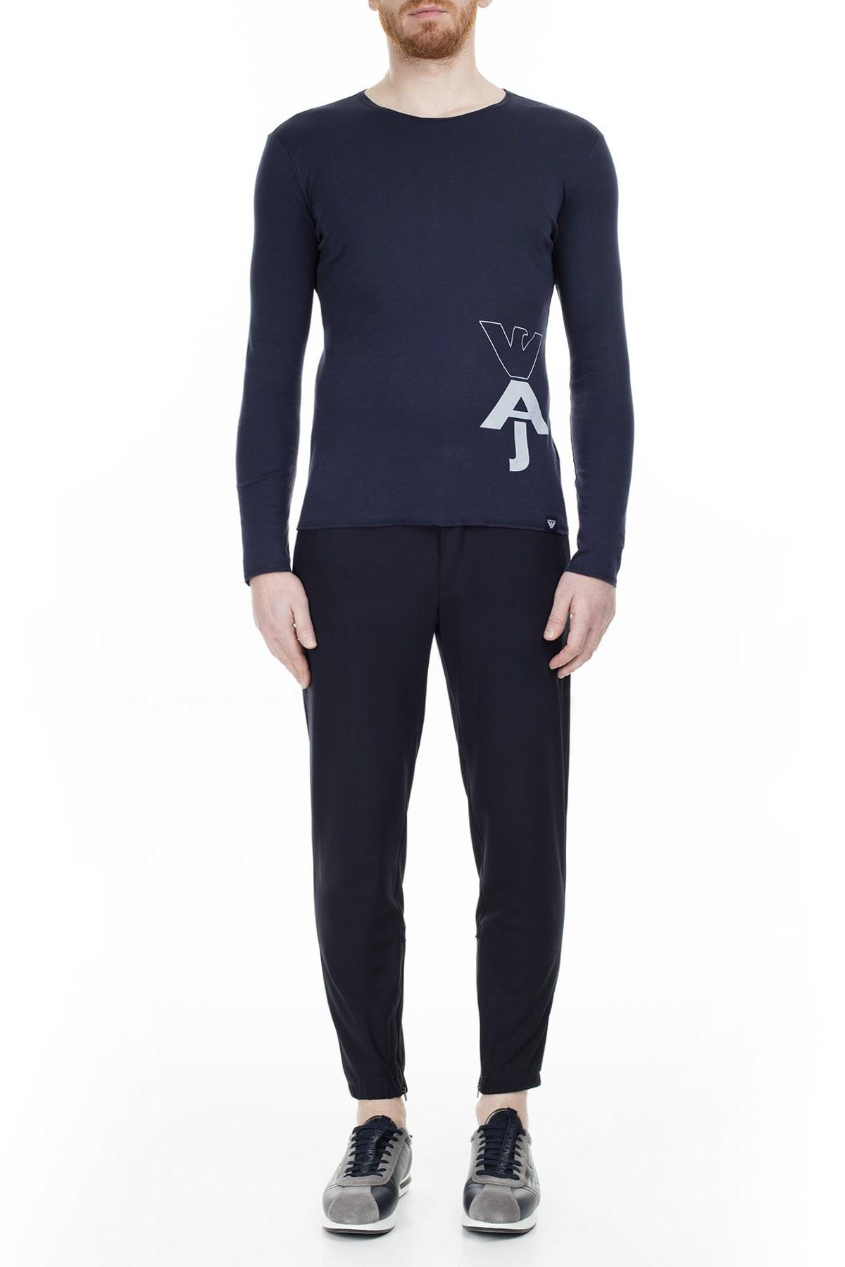 Armani Jeans Erkek T Shirt 6Y6T91 6J17Z 1565 LACİVERT