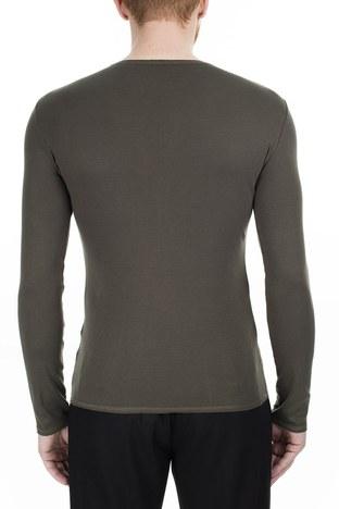 Armani Jeans - Armani Jeans Erkek T Shirt 6Y6T91 6J17Z 1861 HAKİ (1)