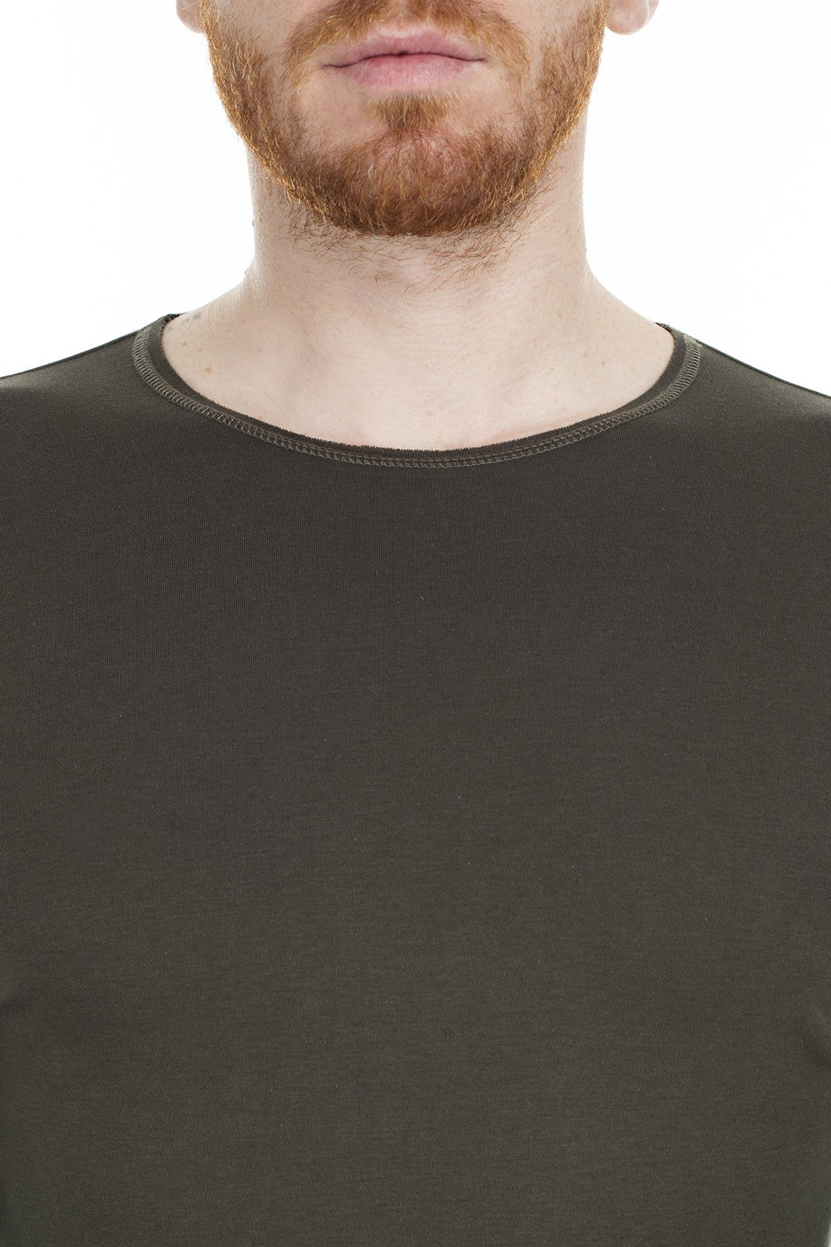 Armani Jeans Erkek T Shirt 6Y6T91 6J17Z 1861 HAKİ
