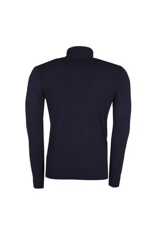 Armani Jeans - ARMANI JEANS Erkek Triko 6Y6MB1 6M0IZ LACİVERT (1)