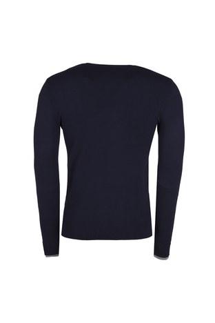 Armani Jeans - ARMANI JEANS Erkek Triko 6Y6MB2 6M0IZ LACİVERT (1)
