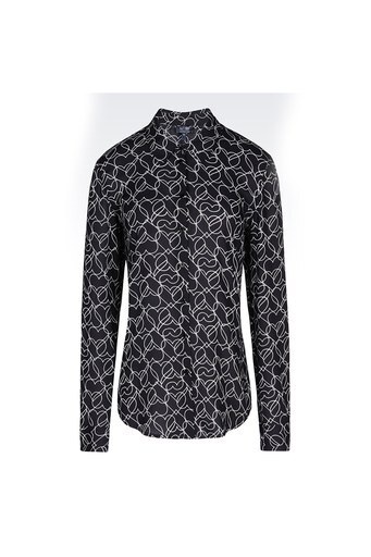 Armani Jeans Gömlek Bayan Uk Gömlek 6X5C40 5NQGZ C2101