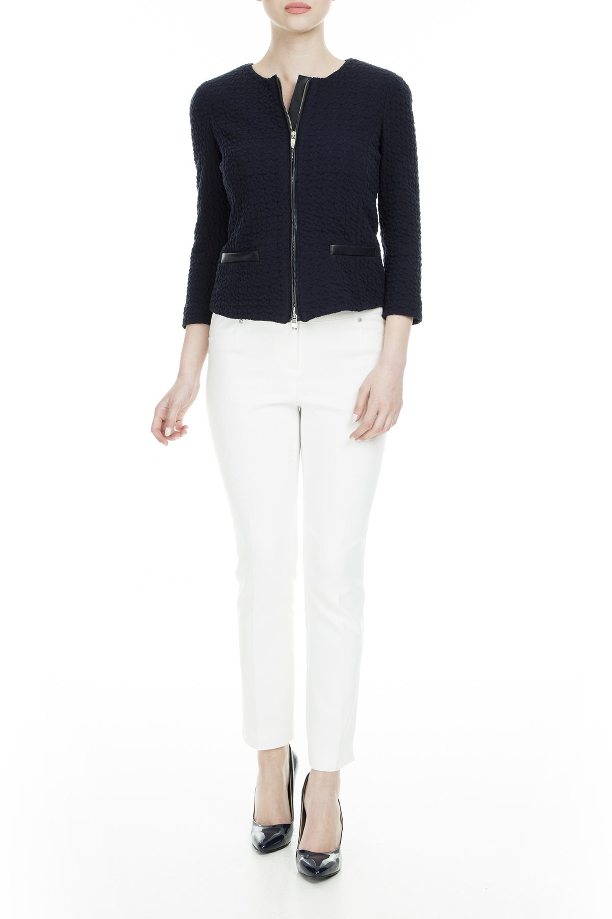 Armani Jeans Kadın Ceket C5N84V UC5E LACİVERT