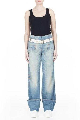 Armani Jeans Kadın Kot Pantolon ZOXDSP12CQ LACİVERT