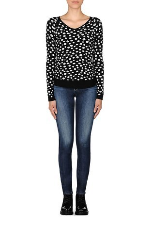 Armani Jeans - ARMANI JEANS Bayan Triko 6X5M9C5M1GZC1200 (1)