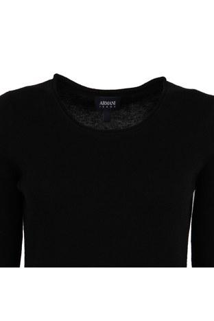 Armani Jeans - ARMANI JEANS Kadın Triko 6Y5M2D5MFWZ SİYAH (1)