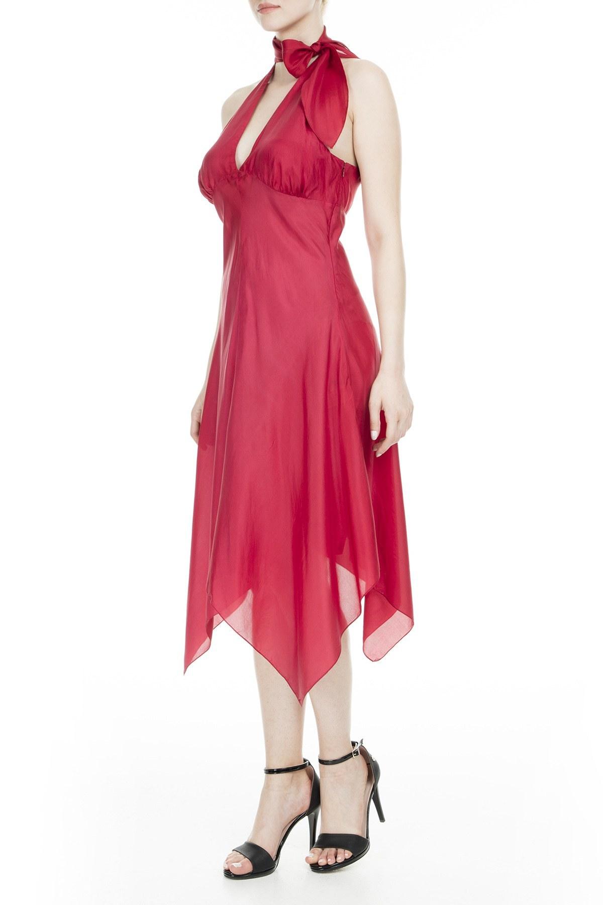 Armani Kadın Elbise ZOX C5A06HU BORDO