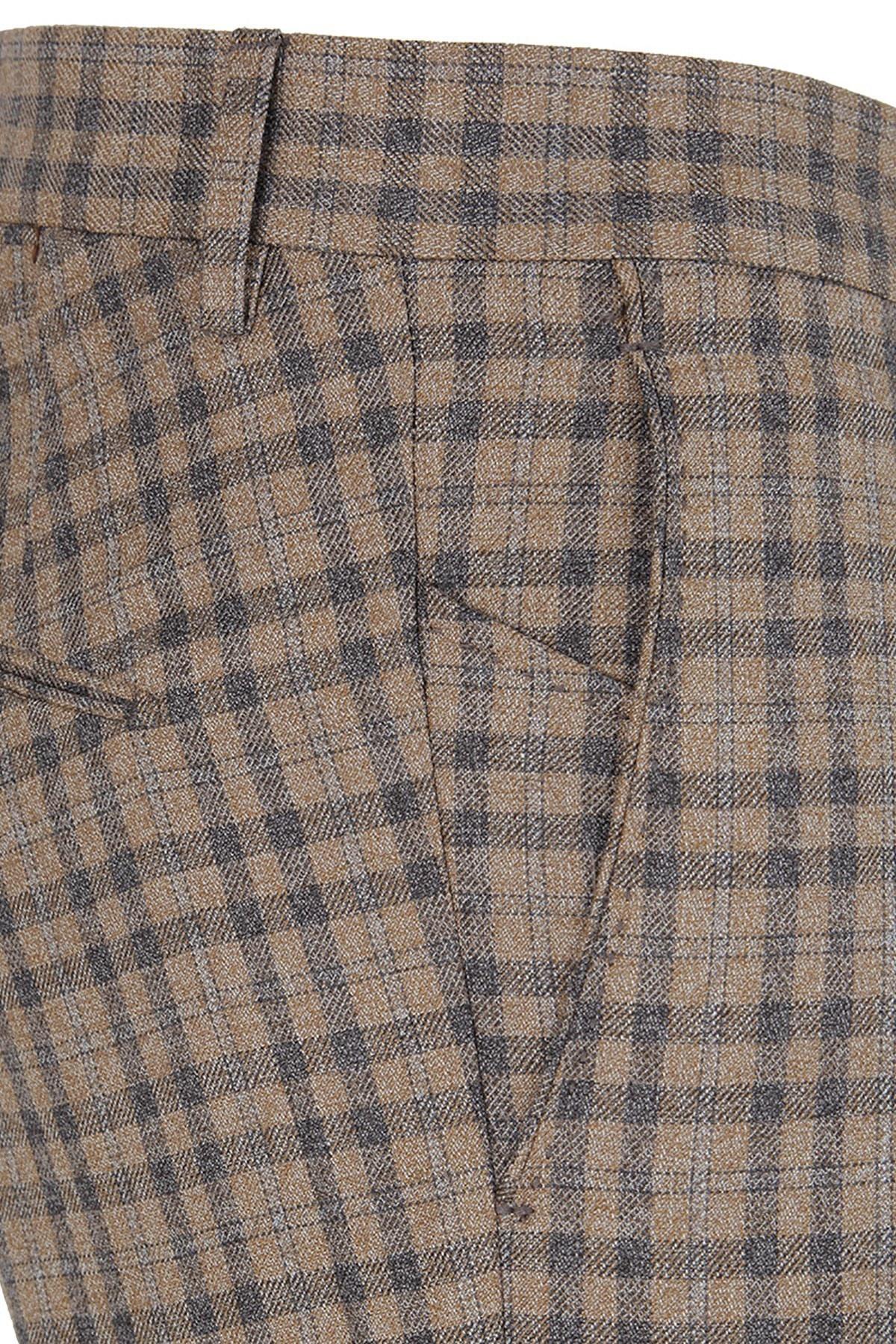 BERWICH Erkek Pantolon MZ2115 VİZON