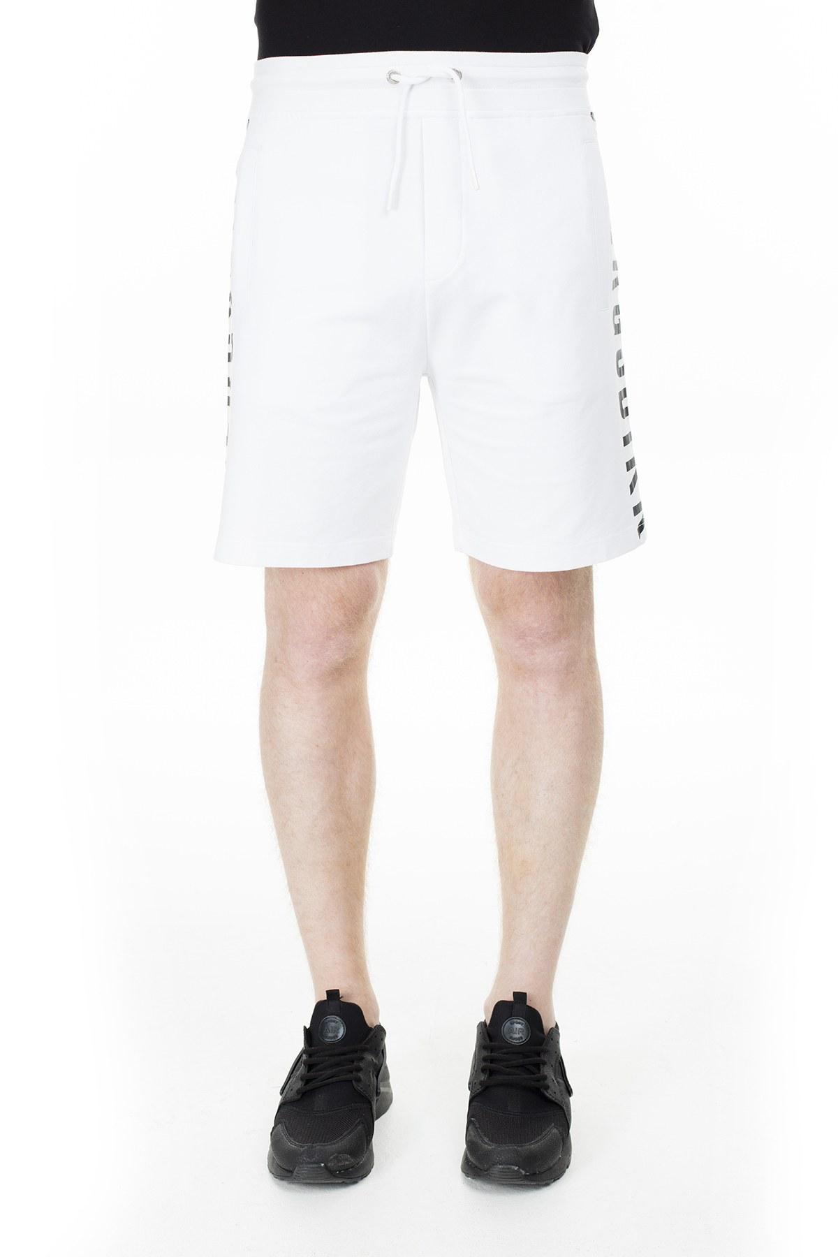 Bikkembergs Erkek Short C101801E1551A00 BEYAZ