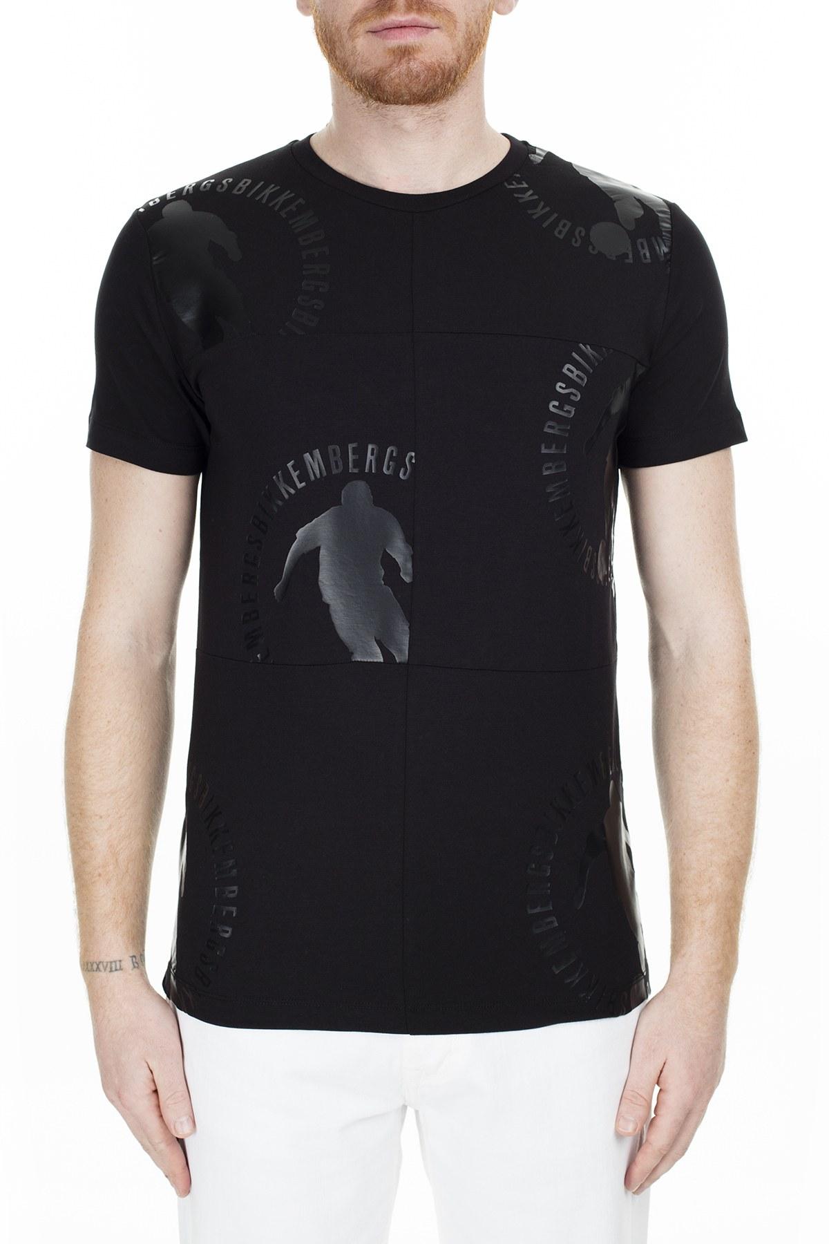 Bikkembergs Erkek T Shirt C4055A5E1823C74 SİYAH