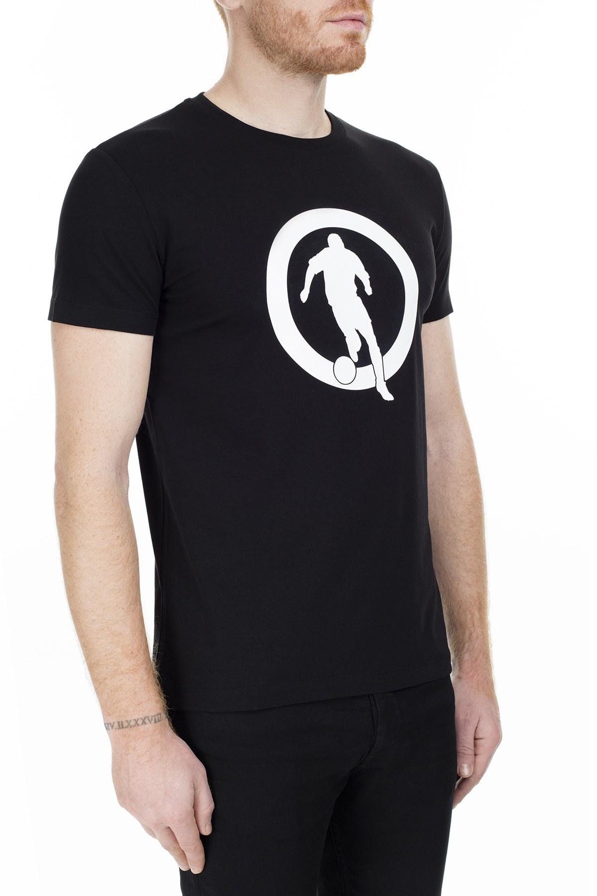 Bikkembergs Erkek T Shirt C700117E1823C74 SİYAH