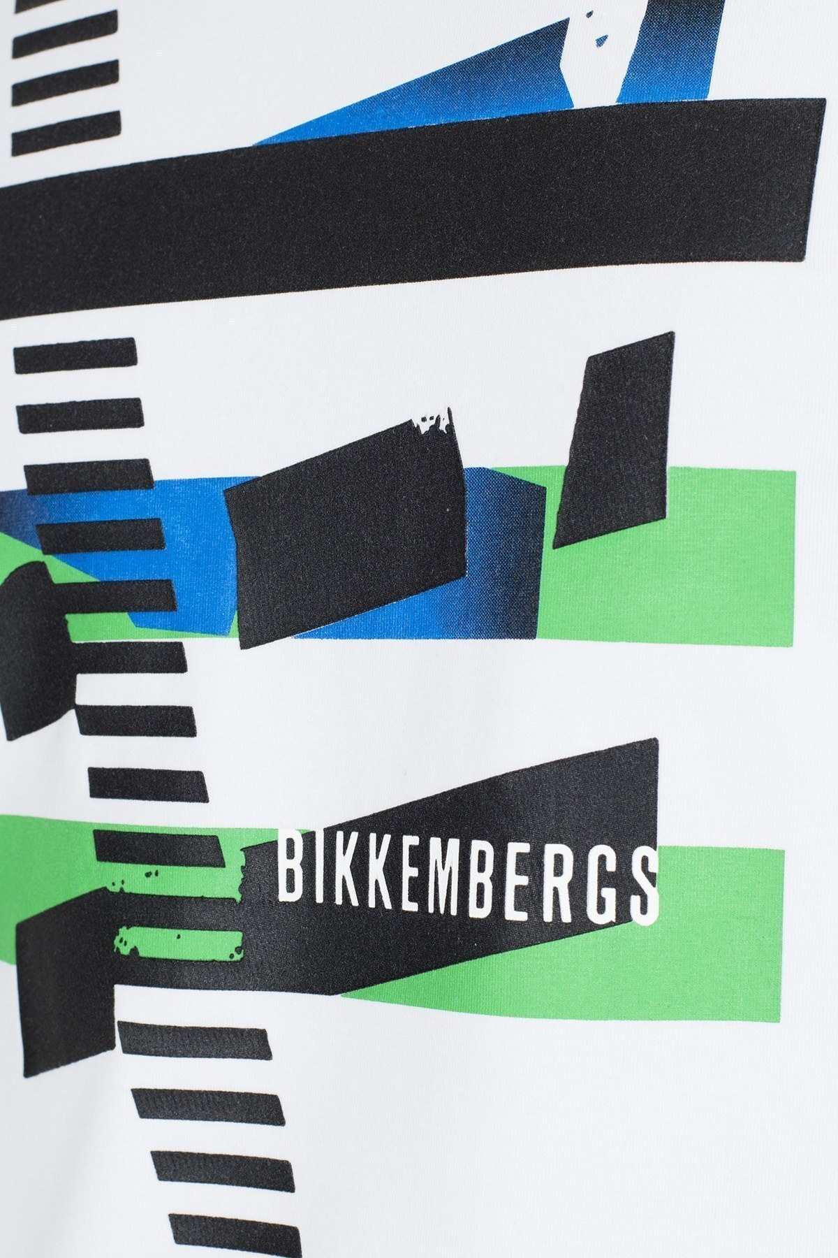 Bikkembergs Erkek T Shirt C700152E1814A00 BEYAZ