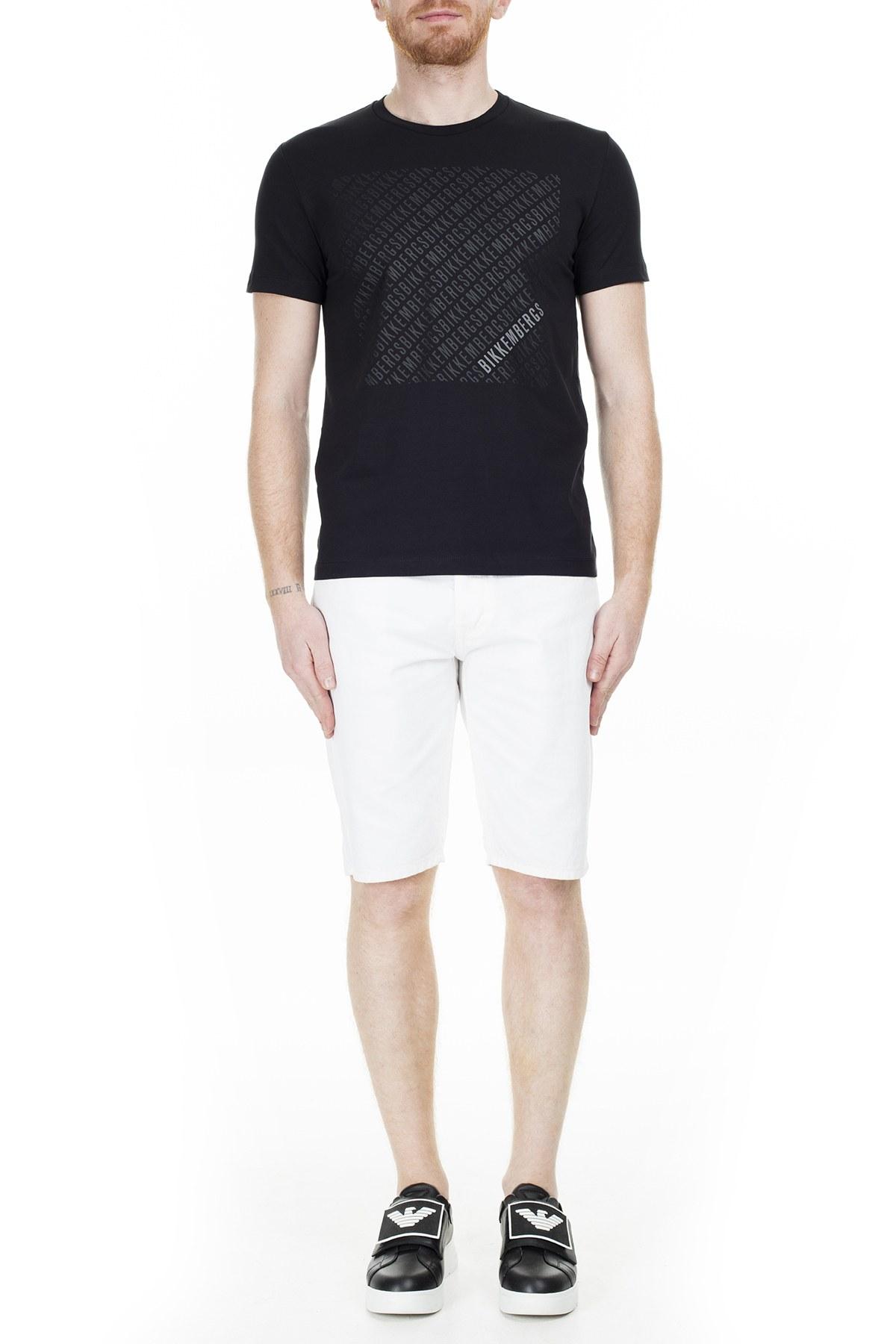 Bikkembergs Erkek T Shirt C70017ZE1951C74 SİYAH