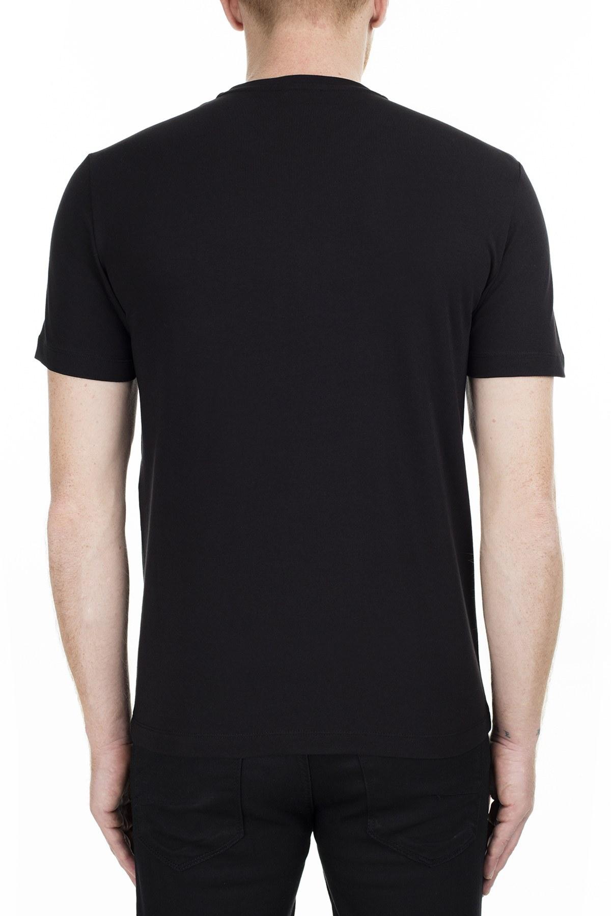 Bikkembergs Erkek T Shirt C7001D8E1823C74 SİYAH