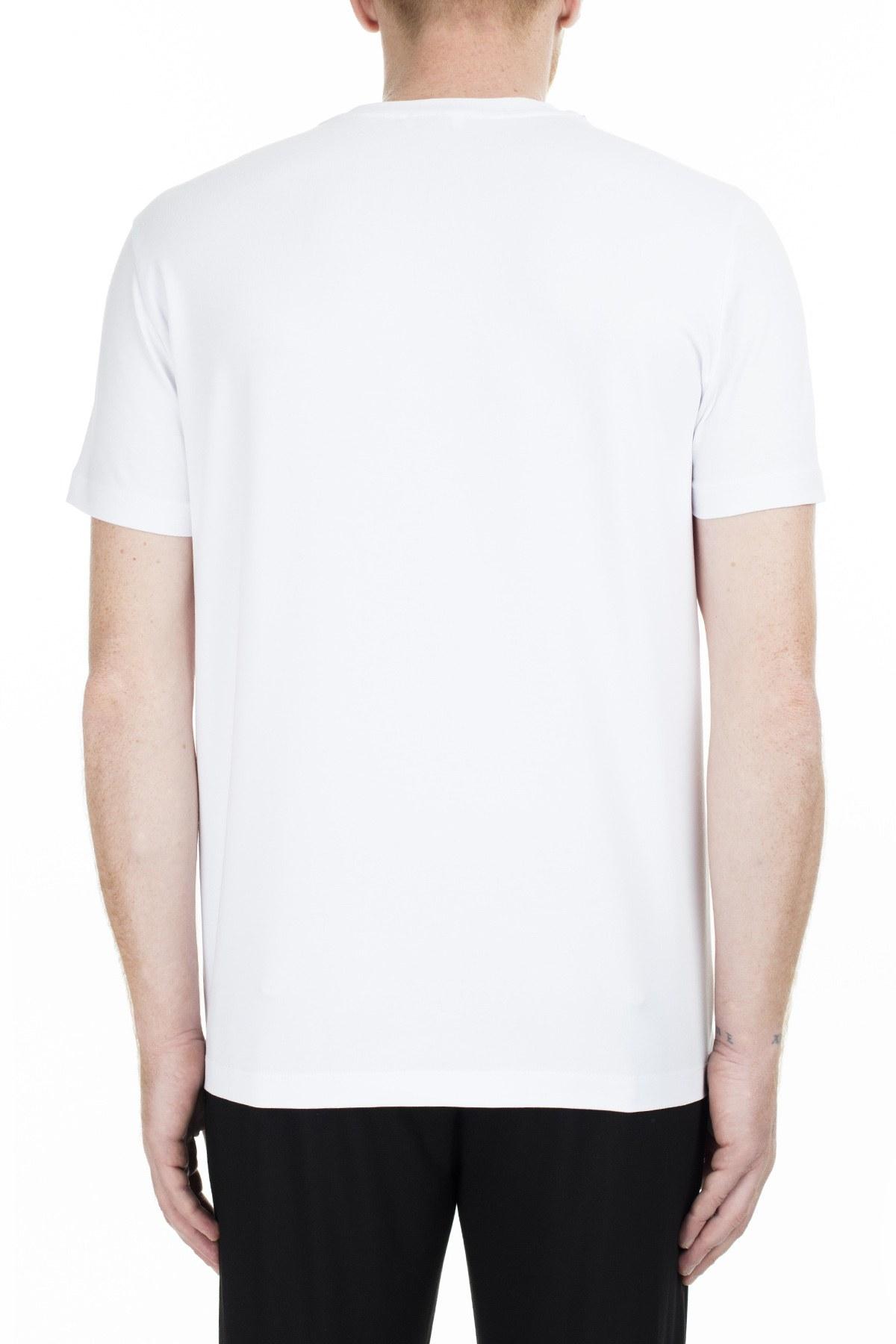 Bikkembergs Erkek T Shirt C7001D9E1823A00 BEYAZ