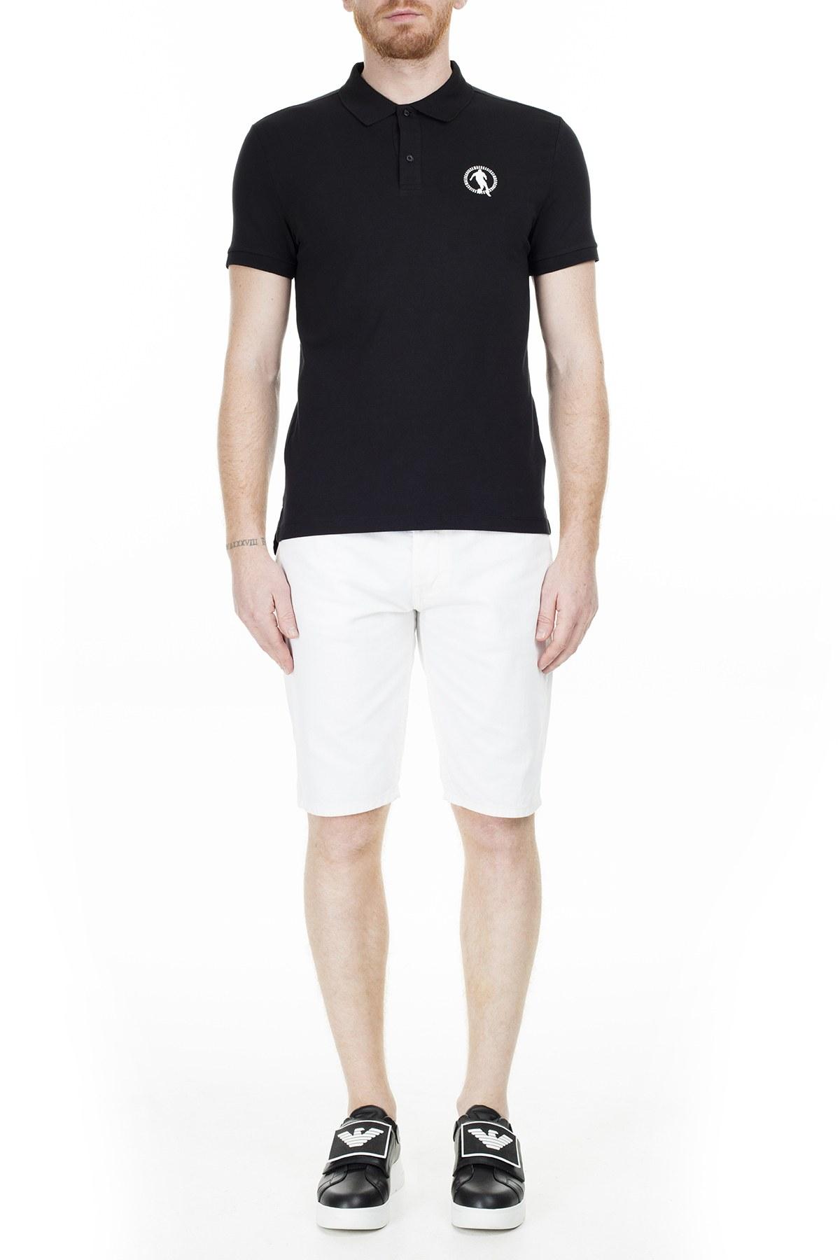 Bikkembergs T Shirt Erkek Polo C801019E1814C74 SİYAH