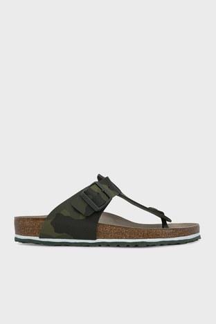 Birkenstock - Birkenstock Medina Bf Erkek Sandalet 1015516 HAKİ KAMUFLAJ