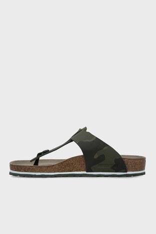 Birkenstock - Birkenstock Medina Bf Erkek Sandalet 1015516 HAKİ KAMUFLAJ (1)