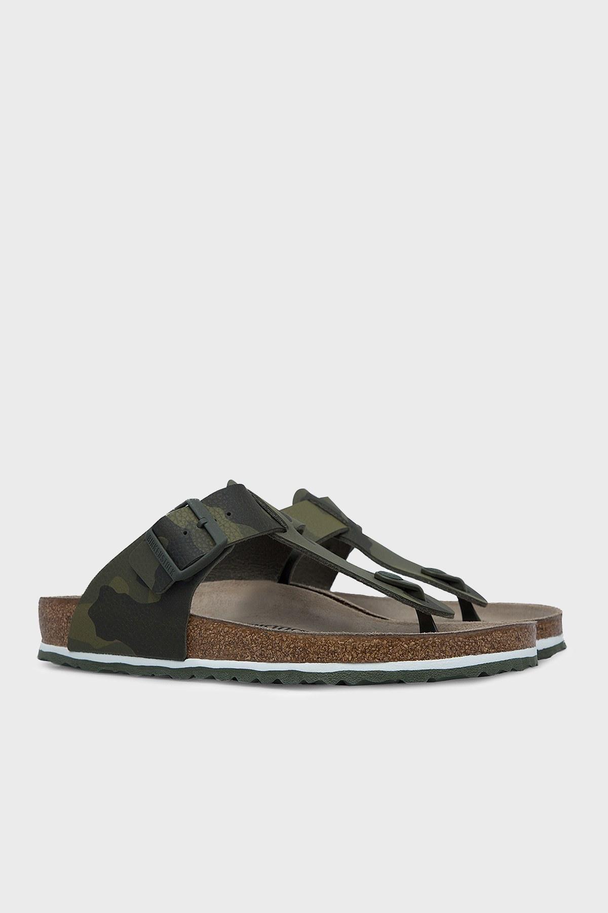 Birkenstock Medina Bf Erkek Sandalet 1015516 HAKİ KAMUFLAJ