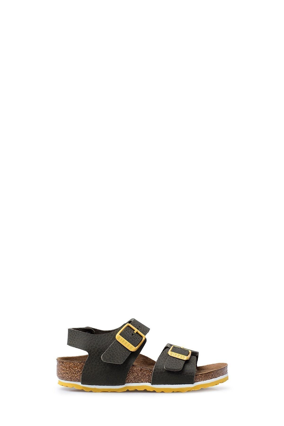Birkenstock New York Bf Unisex Sandalet C-BST1015754P0129 HAKİ