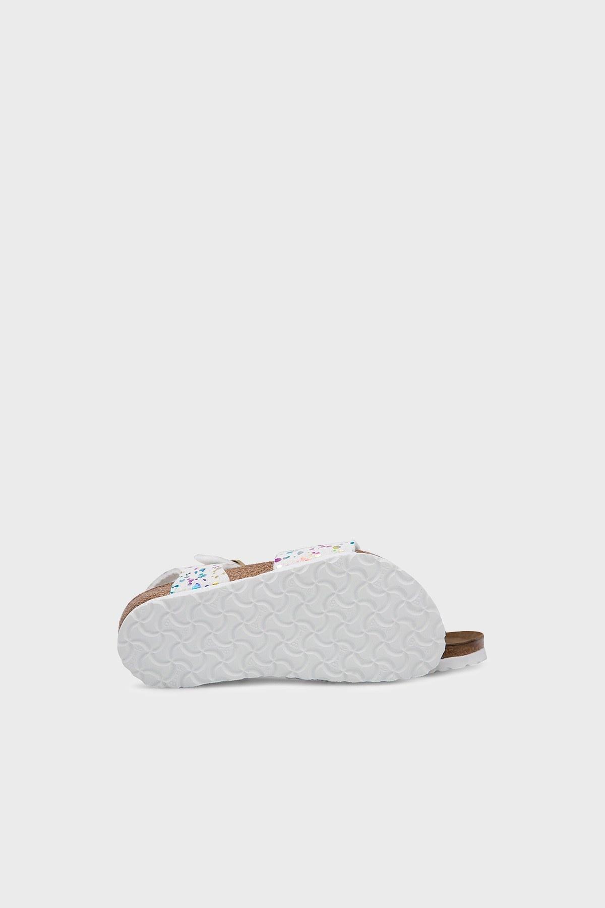 Birkenstock Rio Mf Unisex Sandalet 1015987 BEYAZ