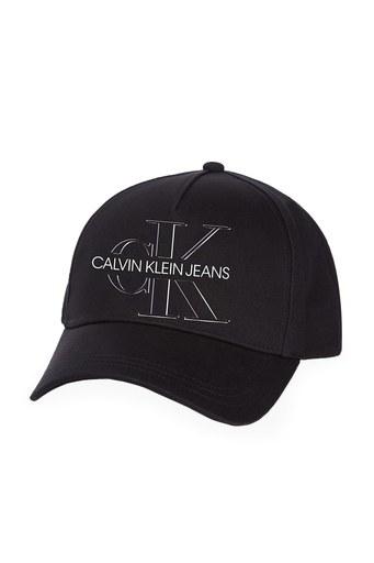 Calvin Klein % 100 Pamuklu Bayan Şapka K60K607763 BDS SİYAH