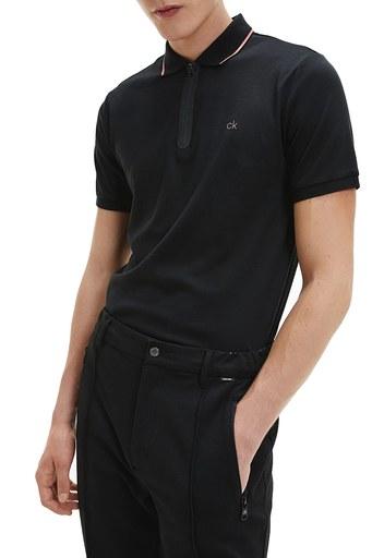 Calvin Klein Polo Erkek T Shirt K10K106460 BEH SİYAH